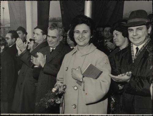 PPMHP 119652: Gradonačelnica Rijeke Neda Andrić, direktor Jugolinije Jure Vukasović i suradnici