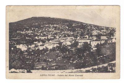 PPMHP 124198: Lippa Fiume - Veduta dal Monte Caurana • Lipa Rijeka - Veduta s Kavrani brijega
