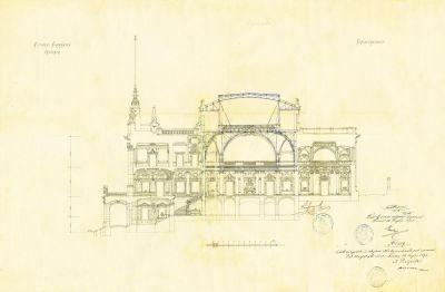 PPMHP 110851: Presjek Guvernerove palače u Rijeci