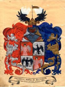 PPMHP 100961: Grb obitelji De Raffaelis