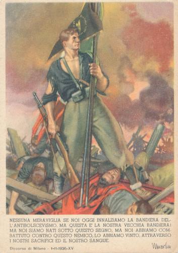 PPMHP 102073: Talijanska propagandna dopisnica protiv boljševizma