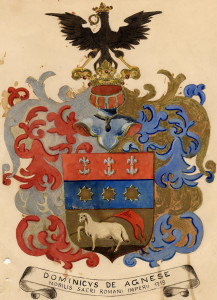 PPMHP 100955: Grb obitelji Agnese