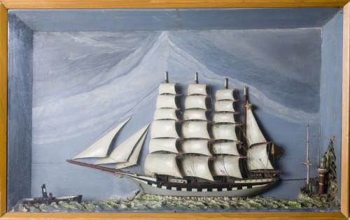 PPMHP 112943: Jedrenjak bark u plovidbi