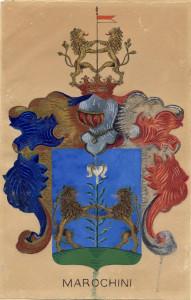 PPMHP 102079: Grb obitelji Marochini