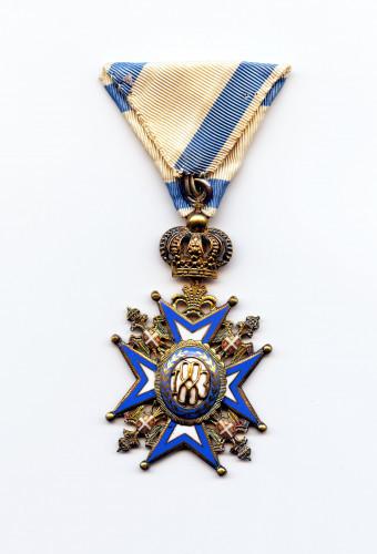 PPMHP 101602: Orden Svetog Save V. reda