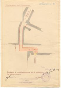 PPMHP 126167: Palazzo del Governo. Galleria di comunicazione fra il palazzo e la palazzina • Guvernerova palača. Komunikacijski hodnik između palače i male palače.