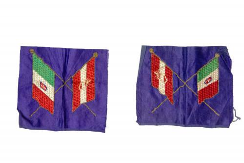 PPMHP 124923: Komplet dvaju fragmenata zastave