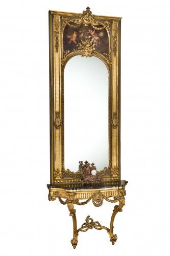 PPMHP 107276: Salonsko ogledalo s konzolnim stolićem