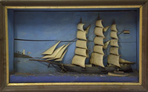 PPMHP 107230: Jedrenjak nava u plovidbi