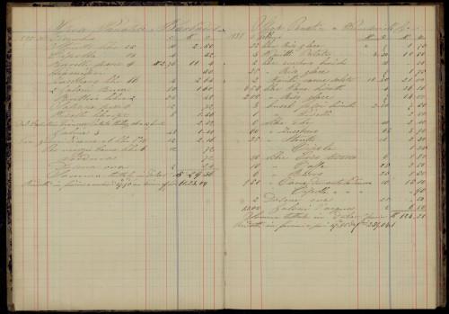 PPMHP 113462: Libro aministrazione Dell Aust-Ung.bark M. Andrina
