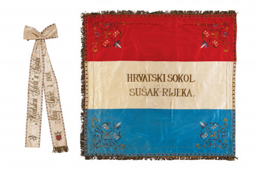 Zbirka zastava i zastavnih vrpci