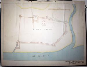 PPMHP 109591: Plan grada Rijeke iz 1639.