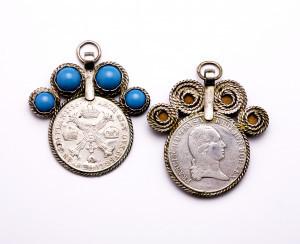 PPMHP 111130: Medaljon s tirkizom