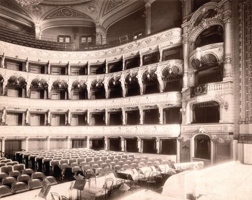 PPMHP 101557: Unutrašnjost HNK Ivana pl. Zajca • Teatro comunale di Fiume