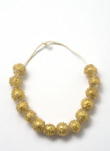 PPMHP 107704: Ogrlica od staklenih perli • Peruzine