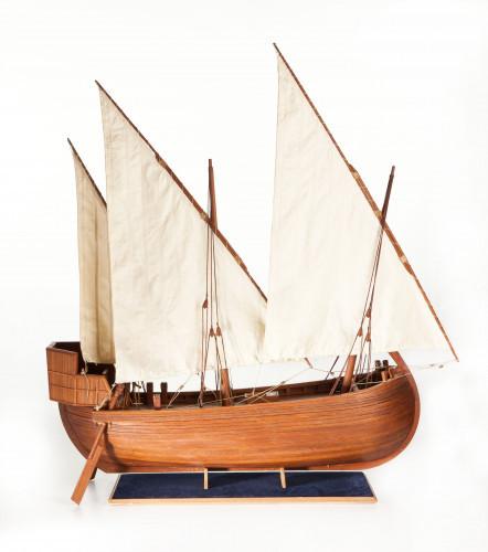 PPMHP 107188: Srednjovjekovni krčki jedrenjak, M 1:30